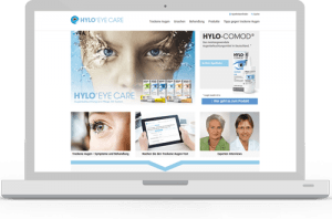 HYLO® EYE CARE Webseiten